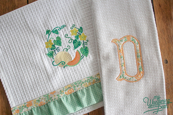 Quick Stitch Kitchen Towels