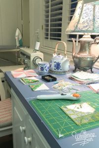 Laundry/sewing room in action