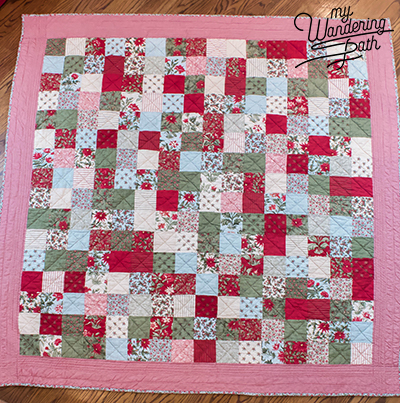 When I saw Holly (@makervalley on Instagram) post her patchwork Swell Christmas quilt, I knew I had to make one just like it…when Swell Christmas comes out ...