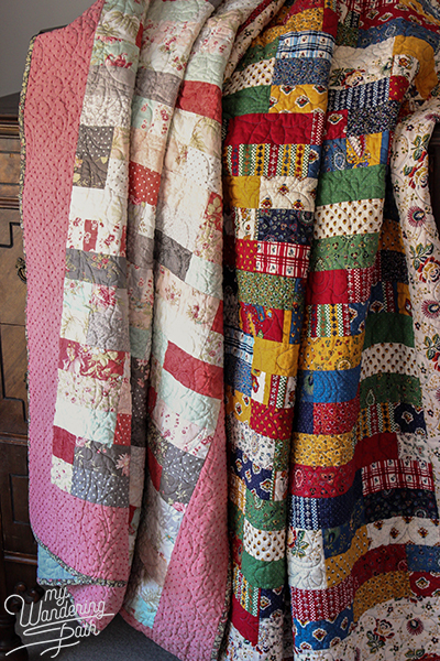 The Sister Quilts My Wandering Path